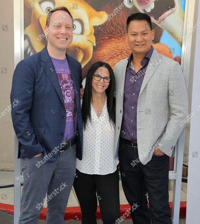Michael Thurmeier, Lori Forte and Galen Tan Chu
