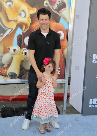 Max Greenfield and Lilly Greenfield