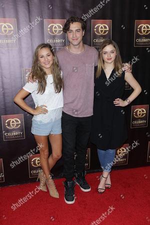 Stock Photo of Electra Formosa, Joey King and Ryan McCartan