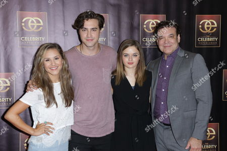 Stock Image of Electra Formosa, Joey King and Ryan McCartan with George Caceres