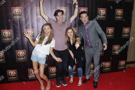 Electra Formosa, Joey King and Ryan McCartan with George Caceres