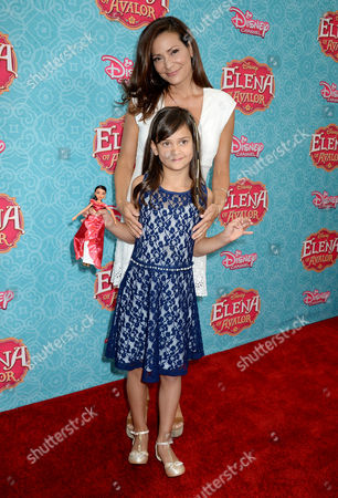Stock Picture of Constance Marie and Luna Marie Katich