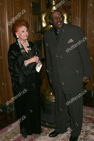 Arlene Dahl and Louis Gossett Jnr