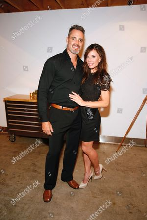Victor Webster and Krista Allen