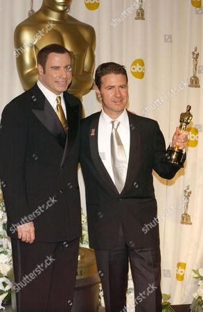 John Travolta and Dion Beebe