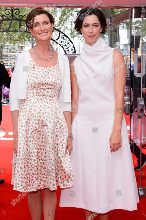 Lucy Dahl and Rebecca Hall