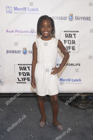 Editorial image of Art For Life Benefit, New York, America - 16 Jul 2016