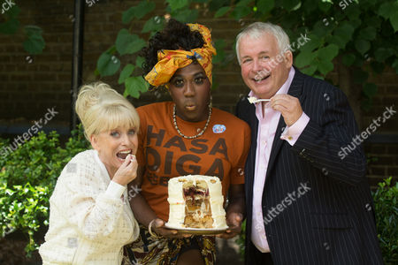 Barbara Windsor, Sean Parkins (Book of Mormon), Christopher Biggins