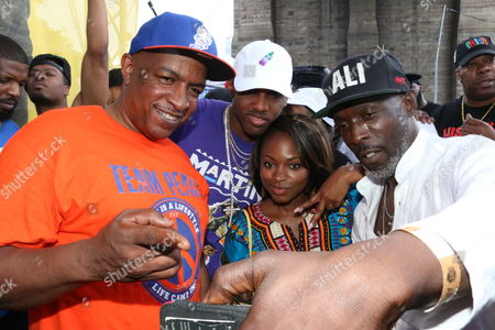 Ralph McDaniels, Fabolous, Naturi Naughton and Michael Williams