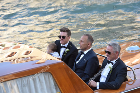 Editorial photo of The wedding of Bastian Schweinsteiger and Ana Ivanovic, Venice, Italy - 13 Jul 2016
