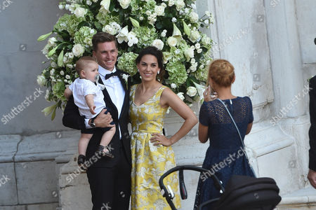 Editorial picture of The wedding of Bastian Schweinsteiger and Ana Ivanovic, Venice, Italy - 13 Jul 2016