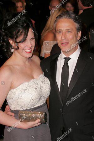 Stock Photo of Jon Stewart and Tracey Lynn Stewart