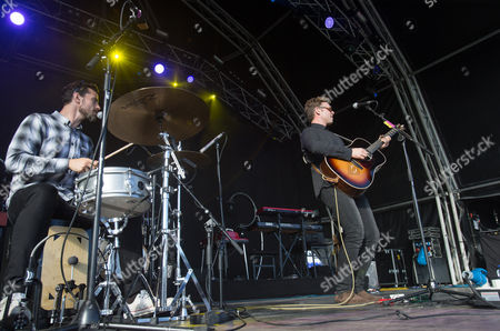 Editorial image of On The Pitch music festival, SSE SWALEC, Cardiff, Wales, UK - 17 Jul 2016