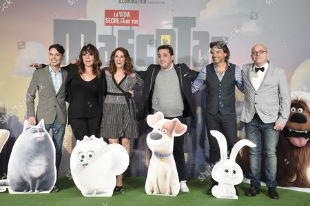 Bruno Pinasco, Ana Maria Simon, Monica Huarte, Andres Lopez, Eugenio Derbez and Martin Campilongo