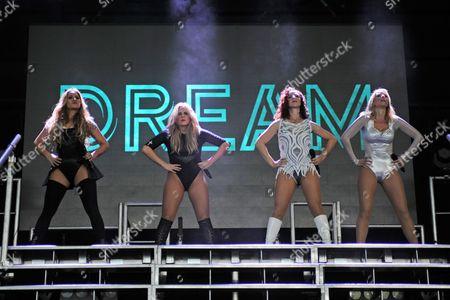 Editorial photo of Dream concert, The Perfect Vodka Amphitheater, West Palm Beach, Florida, America - 16 Jul 2016