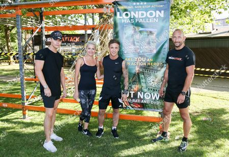 Editorial image of London Has Fallen: Obstacle Challenge at South Bank, London, UK - 18 Jul 2016