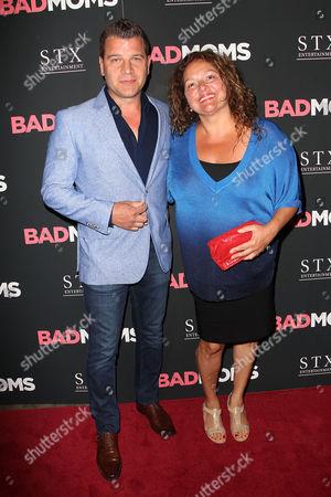 Tom Murrow and Aida Turturro