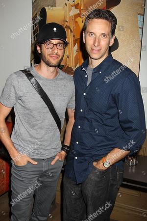 Paulo Costanzo and Ben Shenkman