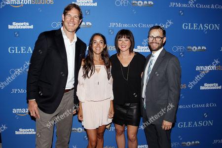 Scott Fujita, Michel Varisco, Mary Rohlich, Clay Tweel