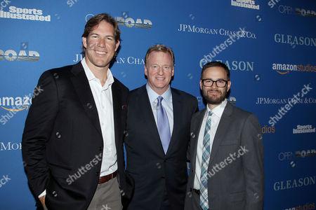 Scott Fujita, Roger Goodell, Clay Tweel