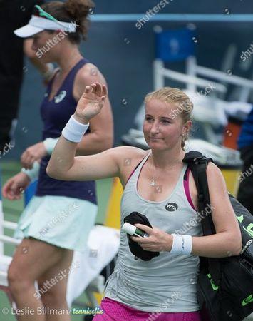 Alla Kudryavtseva (RUS) loses to Samantha Stosur (AUS) 6-3, 6-0, at the Citi Open being played at Rock Creek Park Tennis Center in Washington, DC