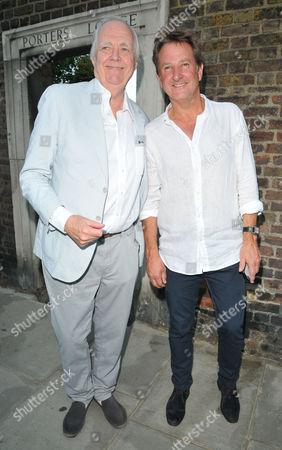 Sir Tim Rice and Mark Nicholas