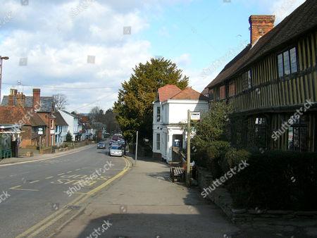 Stock Picture of Staplehurst village, Kent, England, Britain