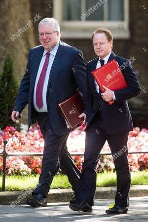 Chancellor of the Duchy of Lancaster Patrick McLoughlin, Minister for the Cabinet Office Ben Gummer