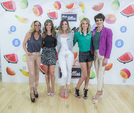Stock Photo of Rocio Carrasco, Monica Martinez, Soledad Leon, Sandra Barneda, Alba Carrillo