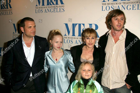 Stock Image of William S. Paley Television Festival Presents 'Medium' - David Cubitt, Sofia Vassilieva, Maria Lark, Patricia Arquette and Jake Weber