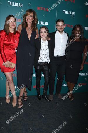 Tammy Blanchard, Allison Janney, Ellen Page, Evan Jonigkeit and Uzo Aduba