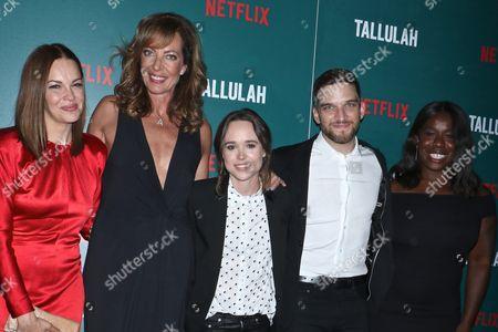 Tammy Blanchard, Allison Janney, Elliot Page, Evan Jonigkeit and Uzo Aduba