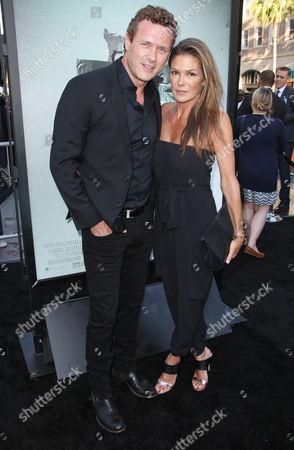 Jason O'Mara and Paige Turco