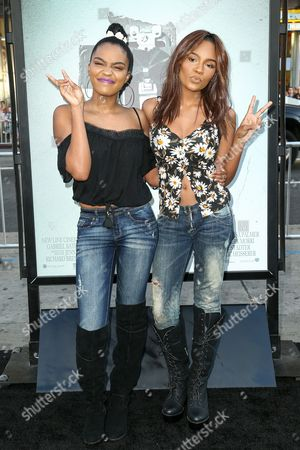 China Anne and Lauryn McClain