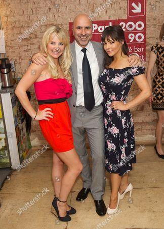 Carley Stenson, Gary Condes (Director) & Roxanne Pallett