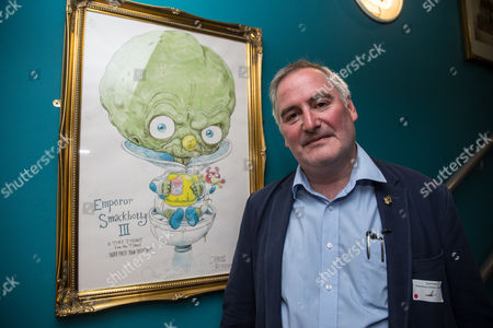 Chris Riddell (The Children's Laureate) in the 'Discover Children's Story Centre'