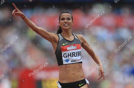 Anniversary games 2016 23/07/16 The Stadium Queen Elizabeth II Olympic Park Photo: Peter Tarry women's 3000m steeplechase   Habiba Ghribi (tun) winner