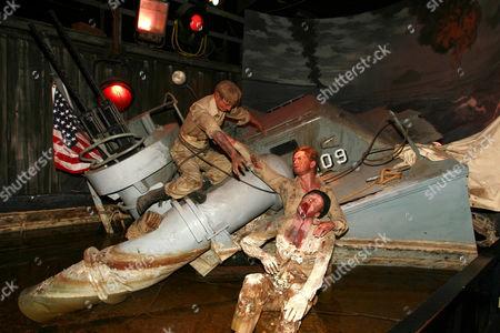 Cliff Robertson and Shipwreck set