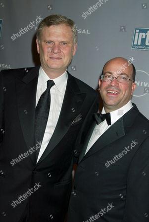 Randy Falco and Jeff Zucker