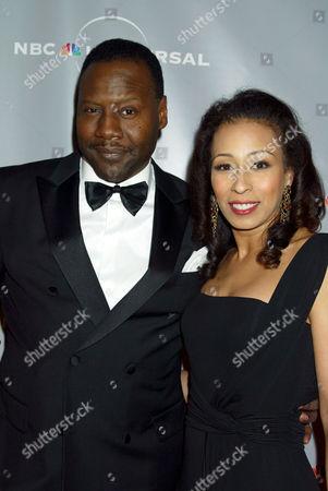 Gregory Generet and Tamara Tunie