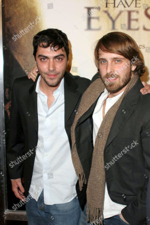 Stock Image of Gregory Levasseur and Alexandre Aja
