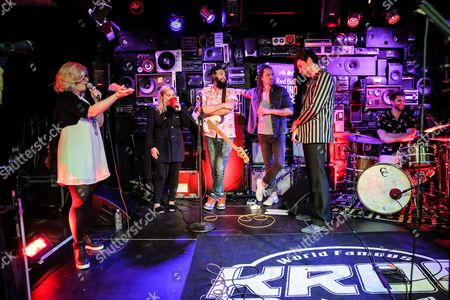 Editorial picture of The Head and the Heart in concert, Red Bull Sound Space, KROQ, Los Angeles, USA - 19 Jul 2016