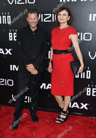 Joel Harlow and Sanja Hays