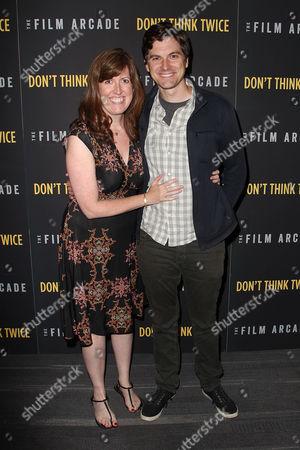 Kate James and Steve Waltien