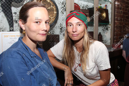 Stock Picture of Melia Marden and Mirabelle Marden