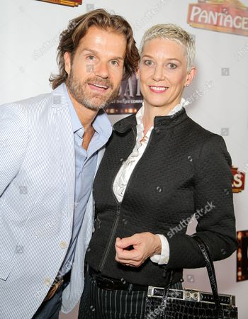 Patricia Kelly and Louis van Amstel