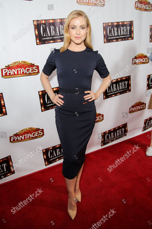 Editorial picture of 'Cabaret' opening night, Pantages Theatre, Los Angeles, USA - 20 Jul 2016