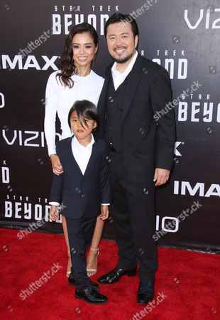 Justin Lin and family