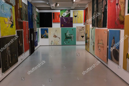 The End - Venezia, 2009 144 paintings: oil on canvas