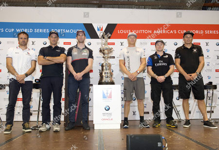 Editorial picture of America's Cup World Series press conference, Portsmouth, Hampshire, UK - 21 Jul 2016